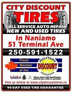Tire Sale +/- 50% off.