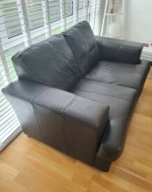 Two Person (DFS) Sofa - Leather
