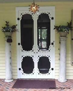 Wooden Screen Doors