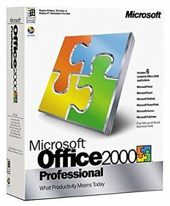 Microsoft Office 2000 Cambridge Kitchener Area image 1