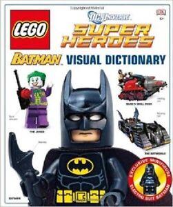 New LEGO Batman Visual Dictionary Exclusive Batman Electro Suit