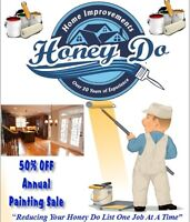ANY ONE ROOM PAINTED FOR $200