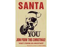 CHRISTMAS STAFF WANTED