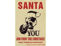CHRISTMAS STAFF WANTED!