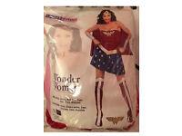 Wonder women fancy dress adult costume