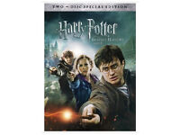 Wanted Harry potter & deathly hallows part 2 dvd