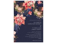 Bespoke wedding and party invitations