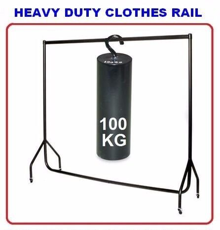 NEW 3Ft. x 5Ft ALL METAL HEAVY-DUTY COMMERCIAL RETAIL CLOTHES DISPLAY SHOP GARMENT DRESS RAIL STAND