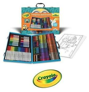 NEW CRAYOLA INSPIRATION ART CASE - 111006279 - MINIONS ART CASE - TOYS GAMES KIDS ARTS AND CRAFTS DRAWING