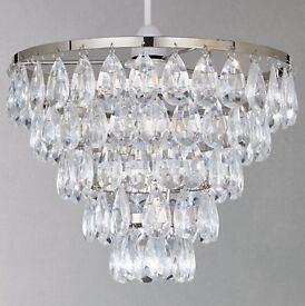 JOB LOT - X19 Chandelier light fittings (2 styles) John Lewis