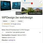 WPDesign.be - website en webshops. 4,7 Sterren in Google!