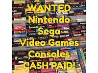 WANTED: Sega & Super Nintendo (Megadrive SNES Gameboy NES)