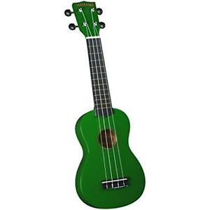 green and red ukelele