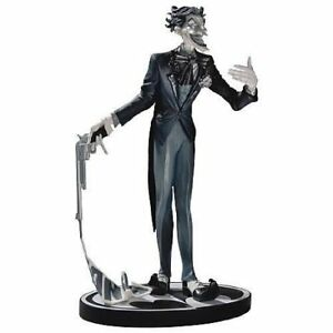 DC Batman Black and White Joker Jim Lee Statue First Edition