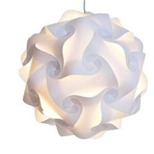 White pendant puzzle lights for sale