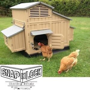 NEW SNAP LOCK LARGE CHICKEN COOP COOP #12 149386182 FORMEX POULTRY EGGS FARM BACKYARD PATIO