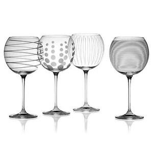 MIKASA Cheers White Wine Glass Set – New in Box