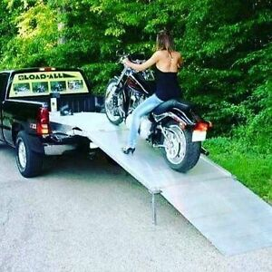 Motorcycle ramp for pick up truck just lowered price!!!