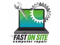 Fast and cheap Laptop and PC computers repair-on site and pick up and delivery