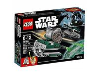 Star Wars Lego Yoda's Jedi Starfighter - 75168