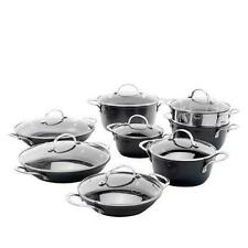 Curtis Stone Dura-Pan Nonstick 15-piece Nesting Cookware Set Model 655-425
