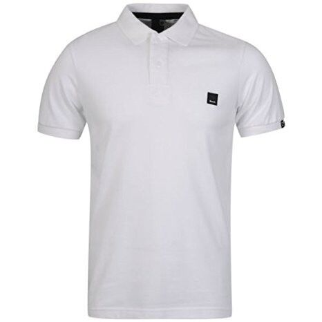 White designer latest Bench mens polo shirt,still sealed with tags,bargain £15,size small