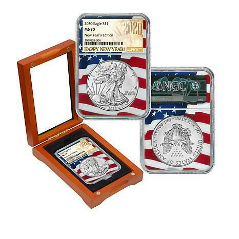 2020 Silver Eagle NGC MS70 Limited New Year