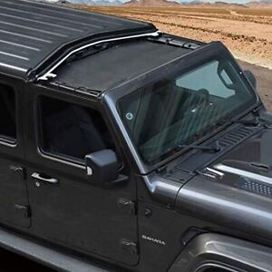 Front  sunshade Jeep JL black