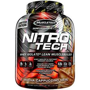 Muscletech, NitroTech, Whey Isolate+ 4lb, 3.97 lbs (1.80 kg)