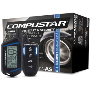 Compustar 2-way Remote Start and Security Alarm - 3000 ft. Range