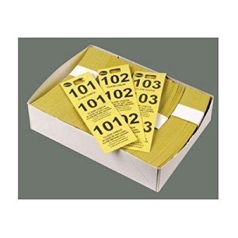 Coat Check Tickets, Blue, 500pcs/box, Set of 20 boxes