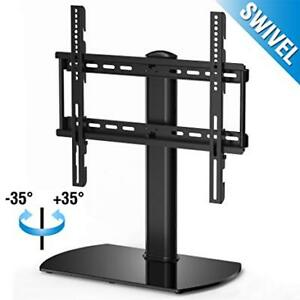 NEW Fitueyes Swivel Universal Table Top TV/Monitor Stand