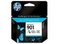 HP Officejet 901 Tri-colour Ink Cartridge, C/Y/M.