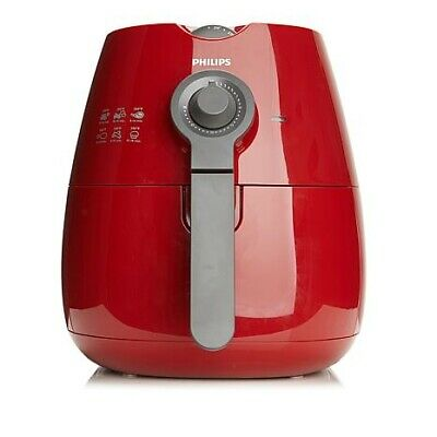 Philips Viva Collection 1425W Low-Fat Multi-Cooker Airfryer (Red/Grey) HD9220/96
