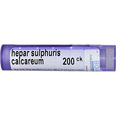 Boiron Hepar sulphuris calcareum 200CK 80 plts