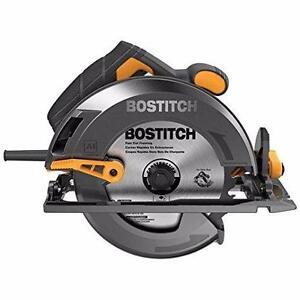 BOSTITCH BTE300K cie circulaire 15 A 7 1/4 pouces avec coffre neuffff