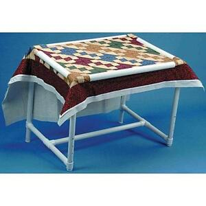 Dritz 28 by 39-Inch Quilters Floor Frame Assembly