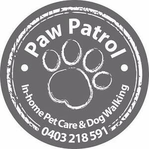 Paw Patrol In-home Pet Care & Dog Walking Newtown Geelong City Preview