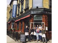 Full / Part Time Bartenders & Waiting Staff Required - Popular Gastropub, Herne Hill