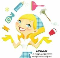 DEFENDOR cleaning services