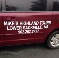 Shuttle service to Cape Breton this weekend!