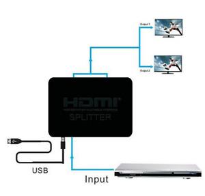 HDCP 4K Splitter HDMI Full HD 1080p vidéo HDMI