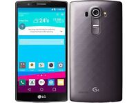 *Factory Unlocked - Excellent* LG G4 Black 32GB LTE/4G latest Android Marshmallow