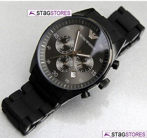 NEW MENS EMPORIO ARMANI SPORTS CHRONOGRAPH DESIGNER WATCH AR5889 RRP £350