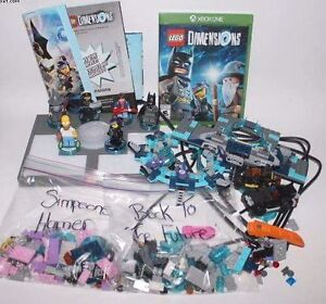Lego Dimensions For Xbox One With Extras