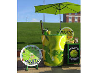 Mojito Stands and Equipment for Events or fix places are for lease!