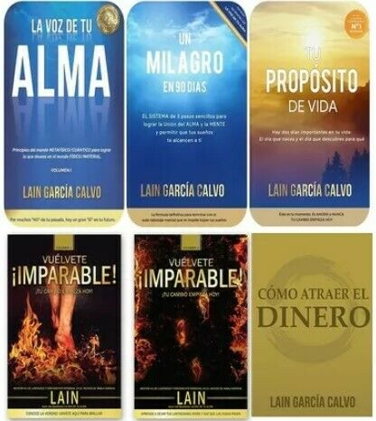 La Voz De Tu Alma Lain Garcia Calvo Como Atraer el Dinero 6 Libros digital PDF