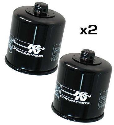 2X KN OIL FILTER   <em>YAMAHA</em> YZF R6 2006 2012