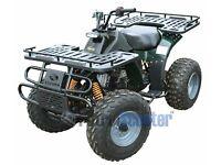 Kazuma Dingo 150cc Utility Quad Including Tow Ball (Green)