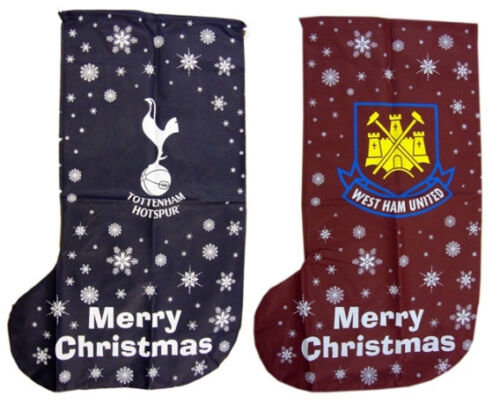 Official Football Club Jumbo Xmas Present Stocking FC Christmas Gift Spurs New